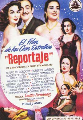 Reportaje - 11 x 17 Movie Poster - Spanish Style A