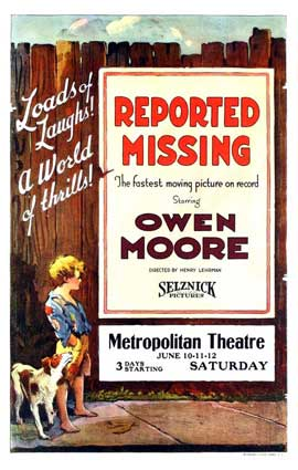 Reported Missing - 11 x 17 Movie Poster - Style A