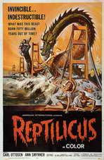 Reptilicus - 11 x 17 Movie Poster - Style C