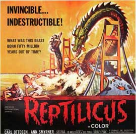 Reptilicus - 11 x 17 Movie Poster - Style B