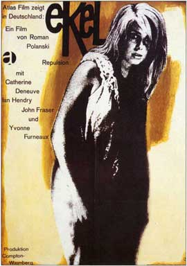 Repulsion - 11 x 17 Movie Poster - German Style A