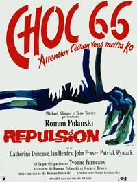 Repulsion - 27 x 40 Movie Poster - German Style B