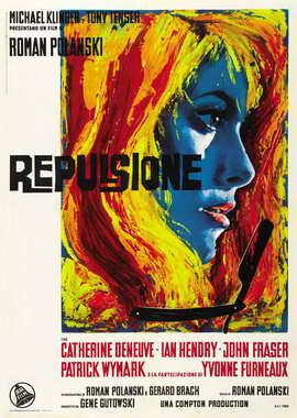 Repulsion - 27 x 40 Movie Poster - Italian Style A