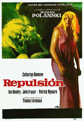 Repulsion - 11 x 17 Movie Poster - Spanish Style A