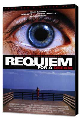 Requiem for a Dream - 27 x 40 Movie Poster - Style A - Museum Wrapped Canvas