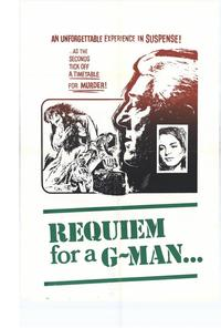 Requiem For a G-Man - 27 x 40 Movie Poster - Style A