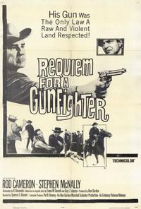 Requiem for a Gunfighter - 27 x 40 Movie Poster - Style A