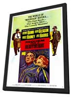 Requiem for a Heavyweight - 11 x 17 Movie Poster - Style A - in Deluxe Wood Frame