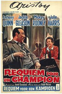 Requiem for a Heavyweight - 11 x 17 Movie Poster - Belgian Style A