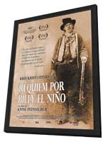 Requiem for Billy the Kid - 11 x 17 Movie Poster - Spanish Style A - in Deluxe Wood Frame