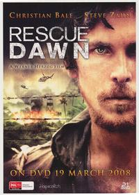 Rescue Dawn - 43 x 62 Movie Poster - Bus Shelter Style C