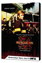 Rescue Me (TV) - 11 x 17 TV Poster - Style A - Museum Wrapped Canvas