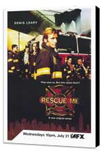 Rescue Me (TV) - 27 x 40 TV Poster - Style A - Museum Wrapped Canvas