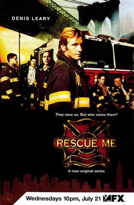 Rescue Me (TV) - 11 x 17 TV Poster - Style A