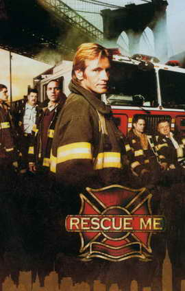 Rescue Me (TV) - 11 x 17 TV Poster - Style D