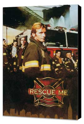Rescue Me (TV) - 11 x 17 TV Poster - Style D - Museum Wrapped Canvas