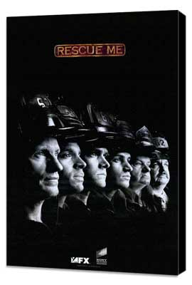 Rescue Me (TV) - 11 x 17 TV Poster - Style E - Museum Wrapped Canvas