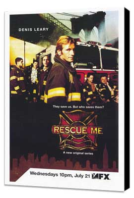 Rescue Me (TV) - 27 x 40 TV Poster - Style B - Museum Wrapped Canvas