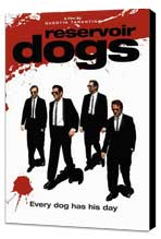 Reservoir Dogs - 11 x 17 Movie Poster - Style K - Museum Wrapped Canvas