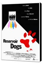 Reservoir Dogs - 27 x 40 Movie Poster - Style A - Museum Wrapped Canvas