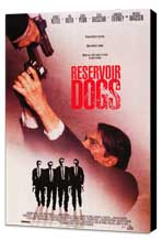 Reservoir Dogs - 27 x 40 Movie Poster - Style B - Museum Wrapped Canvas