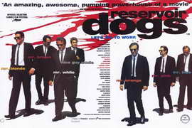 Reservoir Dogs - 11 x 17 Movie Poster - Style D