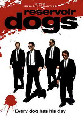 Reservoir Dogs - 27 x 40 Movie Poster - Style F