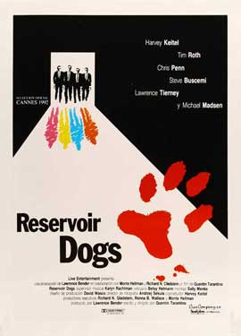 Reservoir Dogs - 27 x 40 Movie Poster - Spanish Style A
