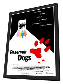 Reservoir Dogs - 27 x 40 Movie Poster - Style A - in Deluxe Wood Frame