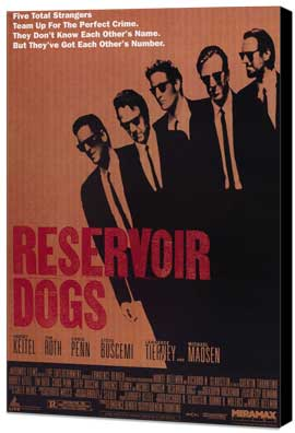 Reservoir Dogs - 11 x 17 Movie Poster - Style A - Museum Wrapped Canvas