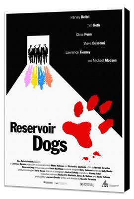 Reservoir Dogs - 11 x 17 Movie Poster - Style I - Museum Wrapped Canvas