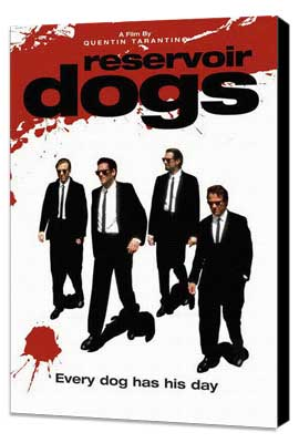 Reservoir Dogs - 27 x 40 Movie Poster - Style F - Museum Wrapped Canvas
