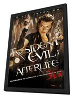 Resident Evil: Afterlife - 27 x 40 Movie Poster - Style B - in Deluxe Wood Frame