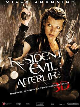 Resident Evil: Afterlife - 11 x 17 Movie Poster - French Style C