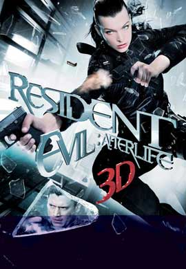 Resident Evil: Afterlife - 11 x 17 Movie Poster - German Style B