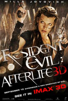 Resident Evil: Afterlife - DS 1 Sheet Movie Poster - Style A
