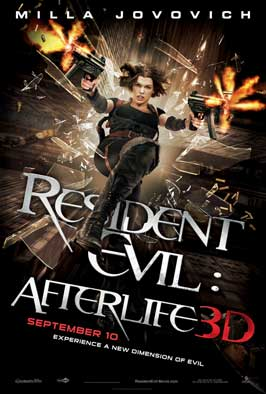 Resident Evil: Afterlife - DS 1 Sheet Movie Poster - Style B