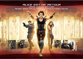 Resident Evil: Afterlife - 11 x 17 Movie Poster - French Style F