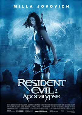 Resident Evil: Apocalypse - 27 x 40 Movie Poster - German Style A