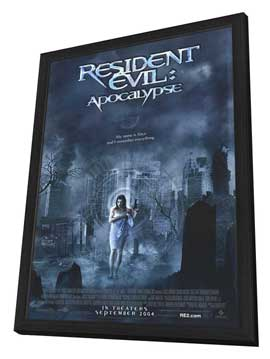 Resident Evil: Apocalypse - 11 x 17 Movie Poster - Style A - in Deluxe Wood Frame