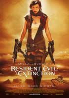 Resident Evil: Extinction - 11 x 17 Movie Poster - German Style A