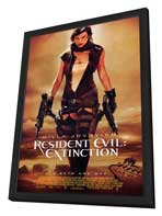Resident Evil: Extinction - 11 x 17 Movie Poster - Style B - in Deluxe Wood Frame