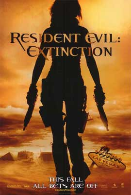 Resident Evil: Extinction - 11 x 17 Movie Poster - Style A