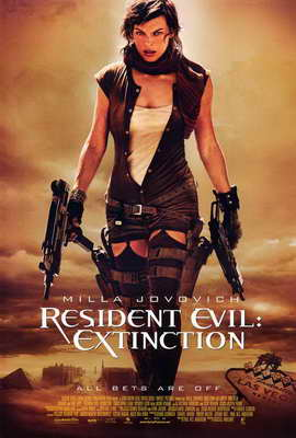 Resident Evil: Extinction - 27 x 40 Movie Poster
