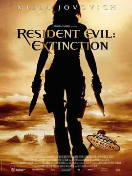 Resident Evil: Extinction - 11 x 17 Movie Poster - French Style A