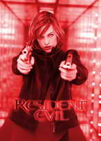 Resident Evil - 27 x 40 Movie Poster - German Style A