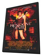 Resident Evil - 11 x 17 Movie Poster - Style D - in Deluxe Wood Frame