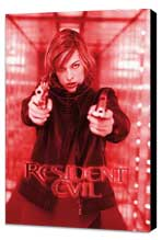 Resident Evil - 11 x 17 Movie Poster - German Style A - Museum Wrapped Canvas