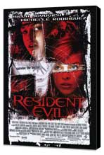 Resident Evil - 27 x 40 Movie Poster - Style B - Museum Wrapped Canvas
