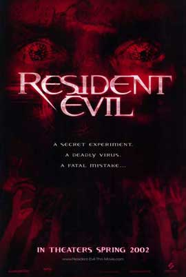 Resident Evil - 11 x 17 Movie Poster - Style A